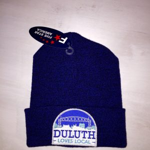 Blue Black Duluth Cap