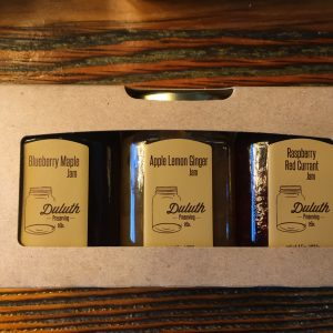 The Market | Duluth Preserving Co $15.99 (Made in Duluth) We're located on the parking ramp level in the Fitger's building (600 E Superior Street in Duluth). We sell all sorts of kitchen goodies - gadgets, tools, supplies - everything you could ask for, and a few things you'd never think to! Also, across the hall at The Market, we have a wide variety of amazing gourmet foods, spices, coffee & tea, and much more!