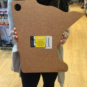 Duluth Kitchen Company | Epicurean MN Cutting Board $24.99 (Made in Duluth) We're located on the parking ramp level in the Fitger's building (600 E Superior Street in Duluth). We sell all sorts of kitchen goodies - gadgets, tools, supplies - everything you could ask for, and a few things you'd never think to! Also, across the hall at The Market, we have a wide variety of amazing gourmet foods, spices, coffee & tea, and much more!