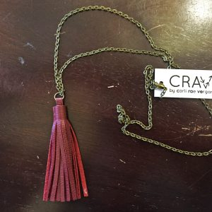 Andi's | Crave Leather Tassel Necklace $38.00 Andi's offers a selection of contemporary fashions from over thirty top designers. Our friendly staff is always on hand to help you find an amazing outfit or the perfect pair of jeans.