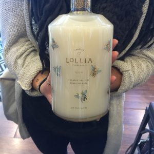 Lotus on the Lake | Lollia Bubble Bath $49.95 Lotus on the lake A relaxing, comfortable and unique retail business which carries Firefly, Holly Yashi, Brighton and other specialty jewelry lines. Baggallini, paper goods and beautiful clothing will also be available in this beautiful boutique located in Fitger's Complex next to Lake Superior. Lotus on the lake is truly a unique shopping experience!