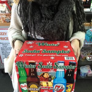 Fizzy Waters   Winter Soda Sample $23.99 Over 100 Root Beers & 500 Sodas. Classic Candy, and Gelato, all in the shadow of the Arial Bridge!