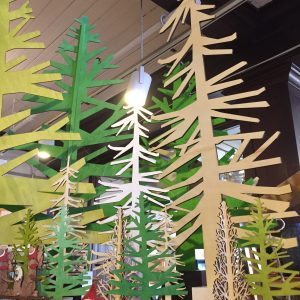 Blue Heron Trading Company | Wood Christmas Trees $6.50 - $43.00 In business since 1985, the Blue Heron is locally owned and operated by co-founder Jane Jenkins. We're located right here in your town, with friendly staff on hand to answer your questions, and without any expensive shipping charges added on to your purchases. We offer free parking, bridal registry, free gift wrapping, one free pound of coffee for every ten, and a 10% Tuesday discount with a Food Shelf donation.