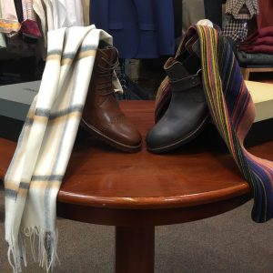 Mainstream Fashions for Men | Boots $198.00 | Wool Scarves $45.00 The Mainstream Difference: Hospitality, fine clothing, and unsurpassed customer service.