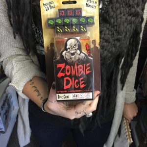 Dungeon's End Game Store | Zombie Dice $13.13 Dungeon's End is a locally owned games store located in friendly West Duluth (Duluth, MN). Situated one block from I-35 and Grand Avenue and with plenty of free parking, we are perfectly located for gamers near and far to conveniently access all their gaming needs.