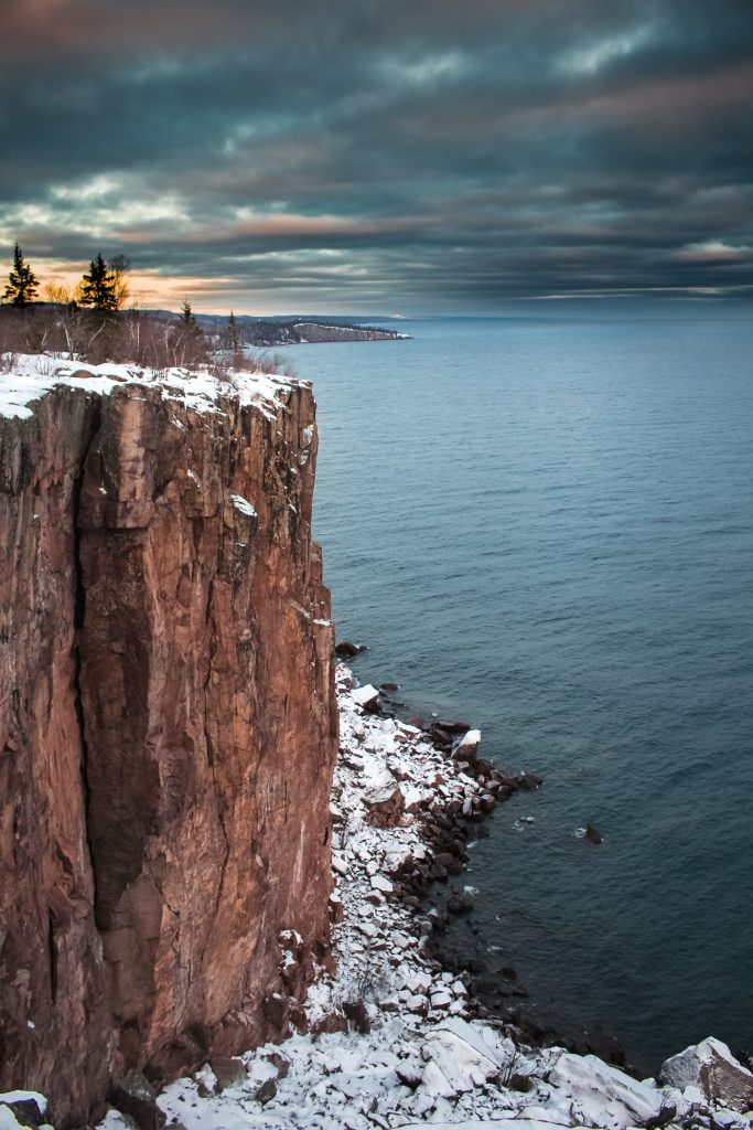 palisade_head_northshore_minnesota_lake_superior_snow_Braden_Doucette