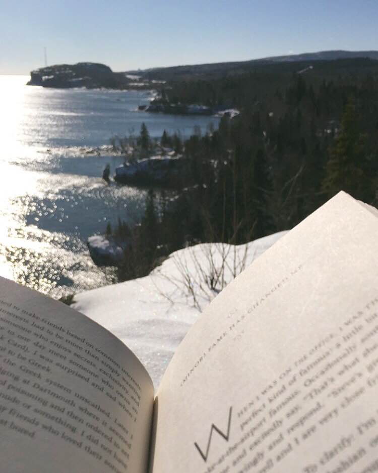 read_books_meditation_lake_superior_nature_minnesota_get_outside_erin_kotzenmacher